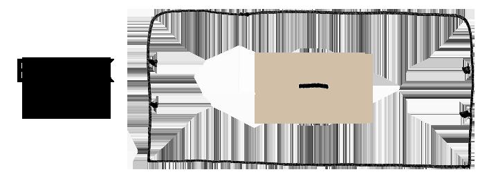 monogram location